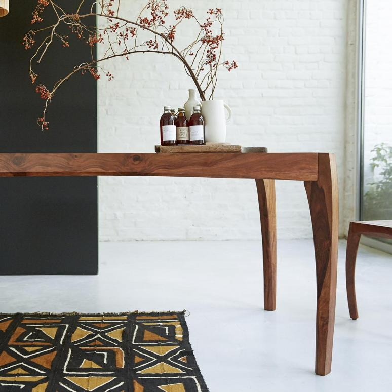 Dining Room Table Luna Sheesham Tables 180x90 In 2020 Rosewood Dining Table Dining Room Table
