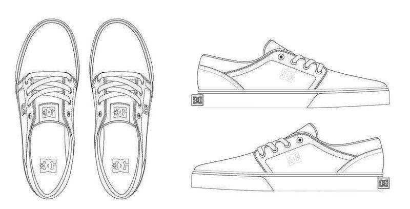 dc shoes design coloring sheet   Dc
