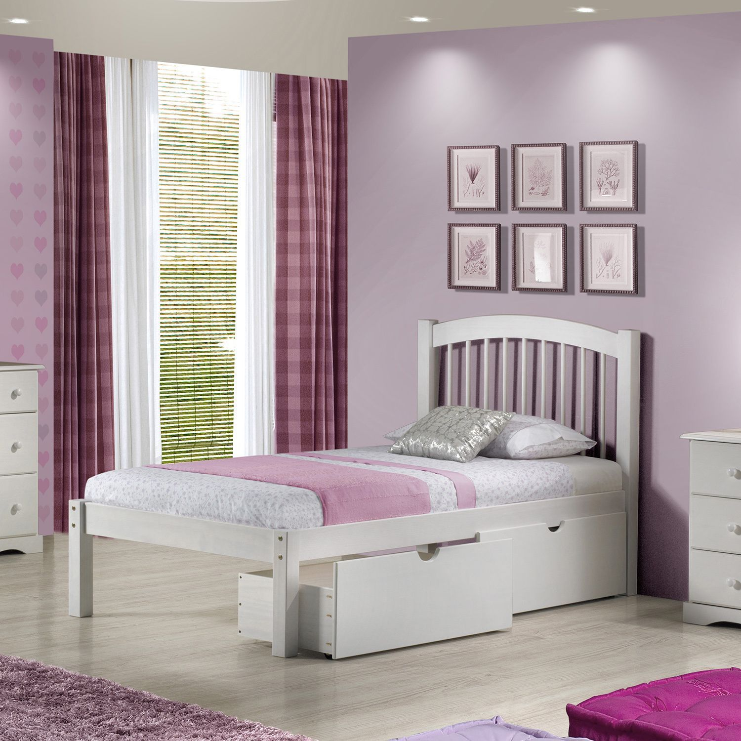 Twin loft bed craigslist  This attractive twin spindle bed is made of percent solid wood