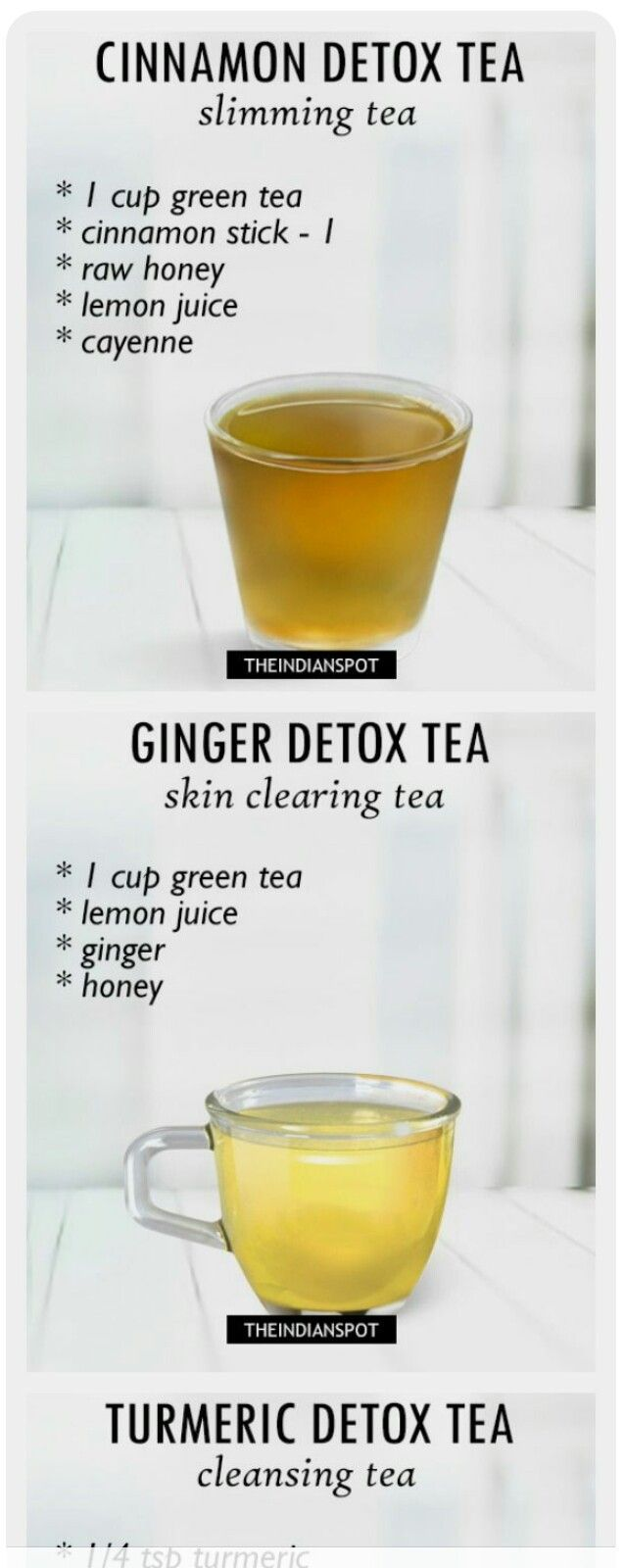Detox Tea & Skin Clearing Tea #detoxteaweightloss
