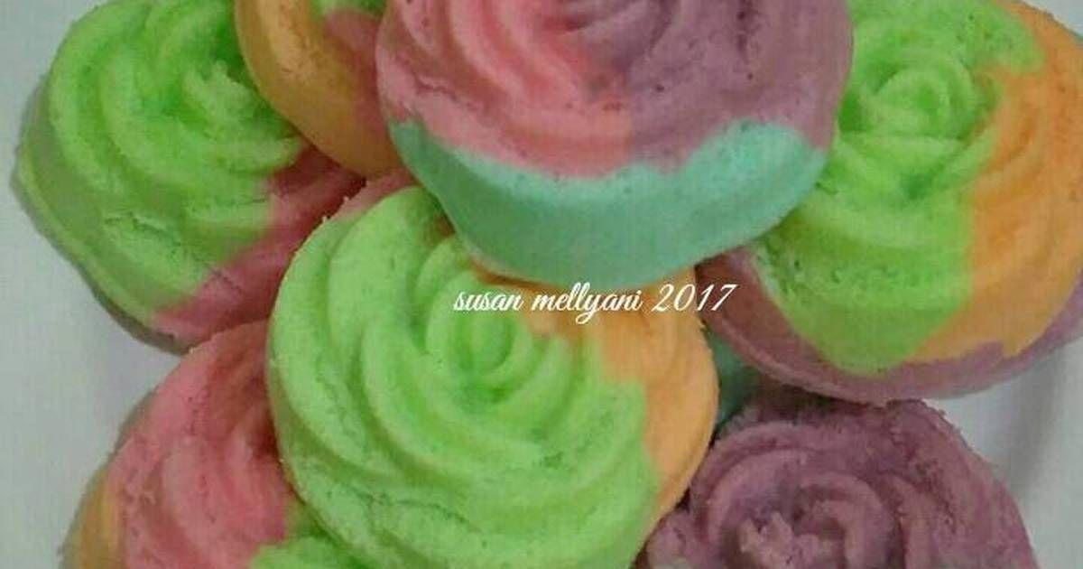 Resep Bolu Kukus Mawar Pr Recookanekabolkus Oleh Susan Mellyani Resep Kue Dadar Resep Makanan Jalanan