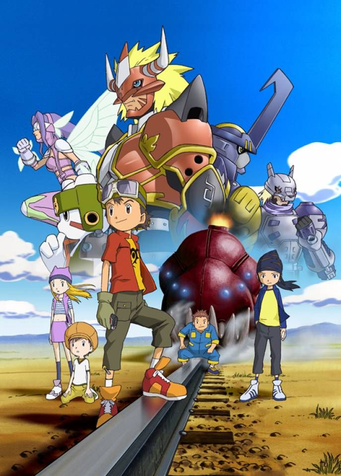 Digimon Frontier /// Genres Action, Adventure, Comedy