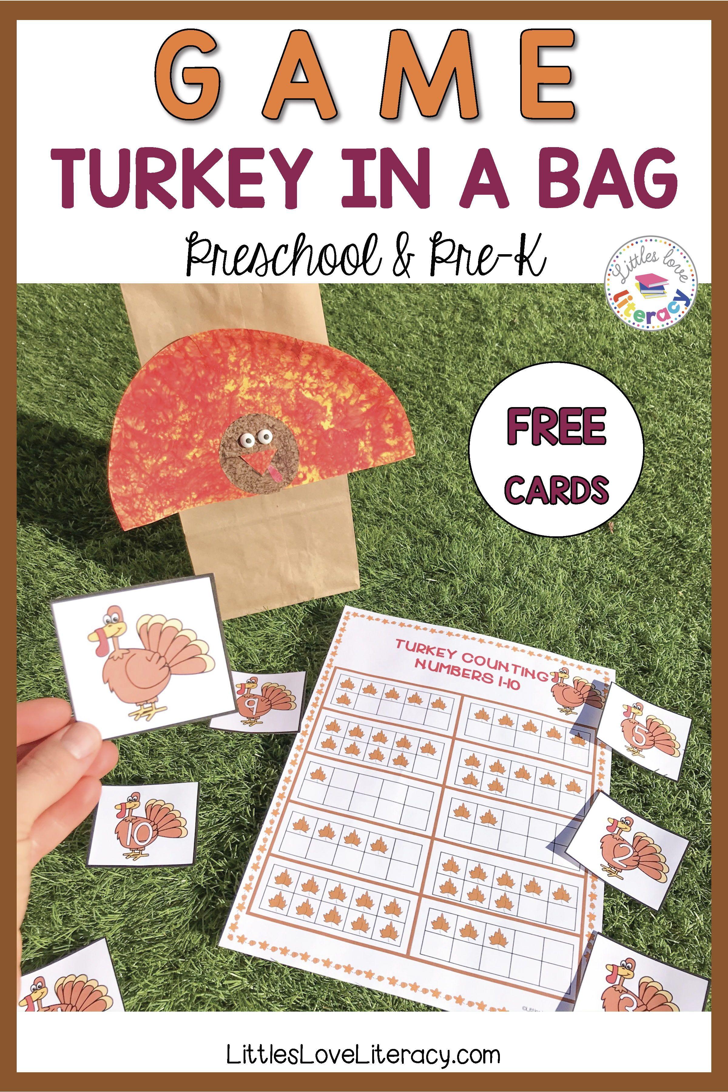 Thanksgiving Game For Preschool