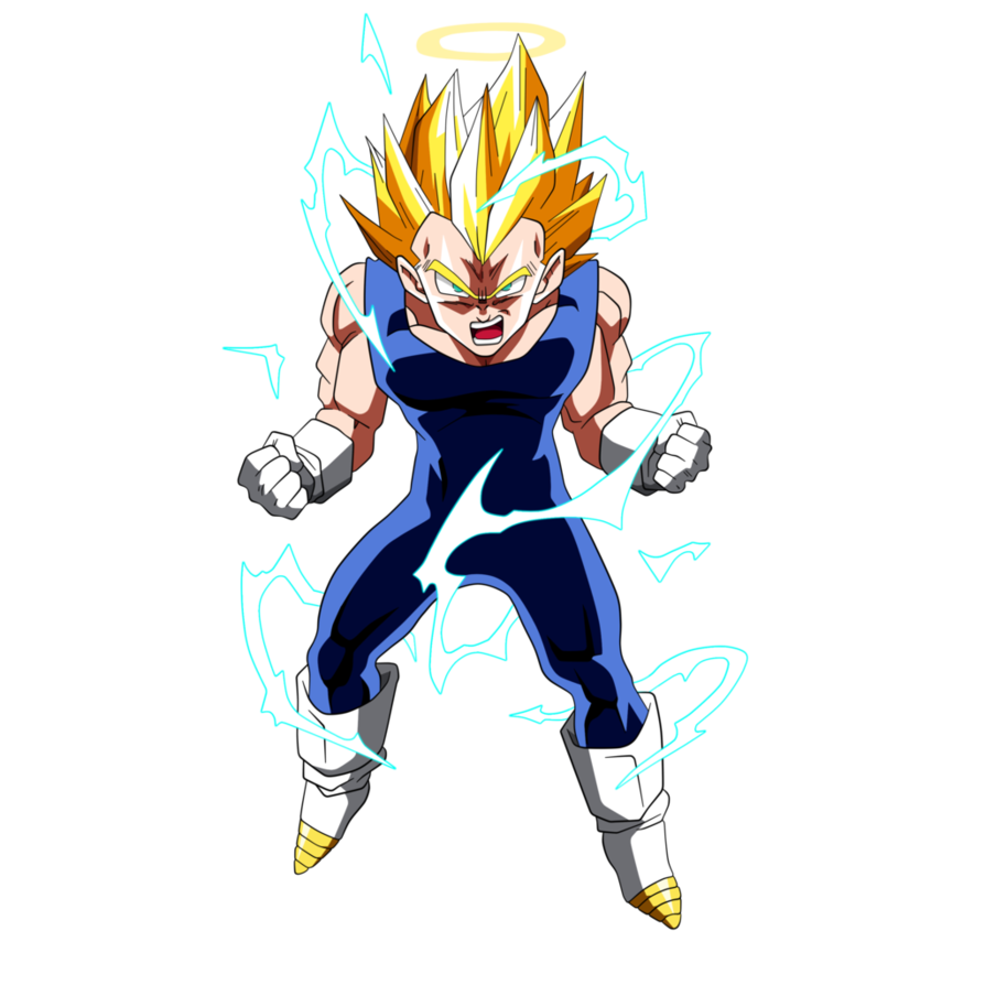 Vegeta Super Saiyan 2 By Dark Crawler On Deviantart Dragonball