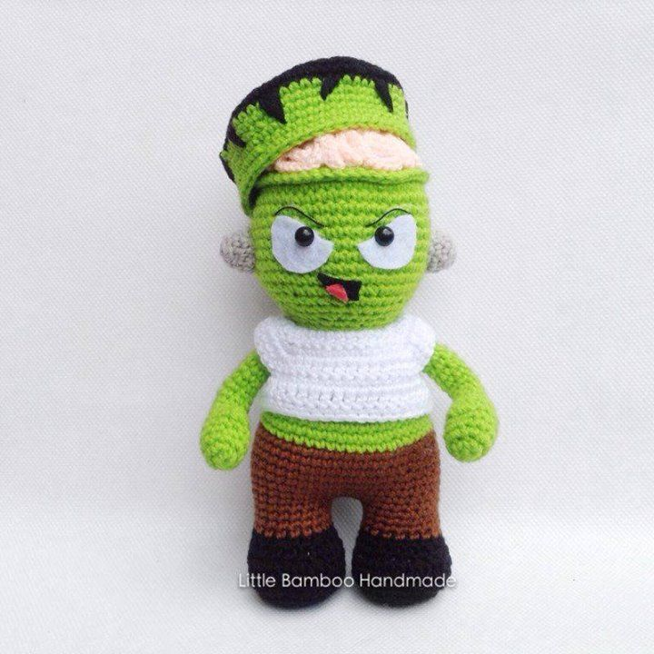 "amigurumipatterns: "" Mr. Frankenstein is another popular Halloween ..."