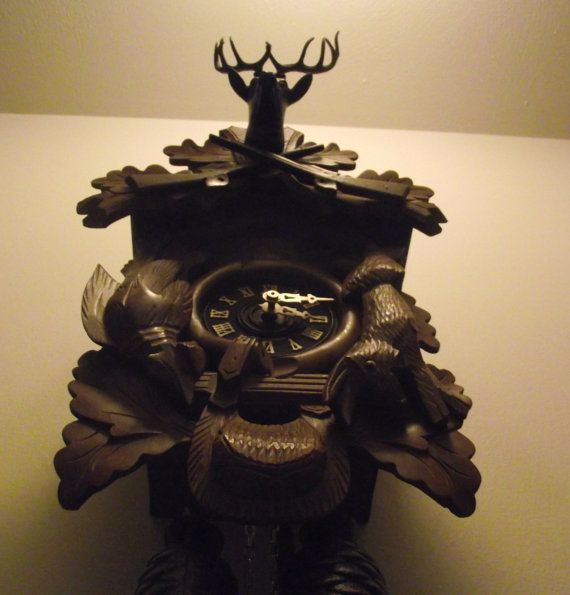 Vintage 8 Day Cuckoo Clock by WebberClocks on Etsy, $150.00