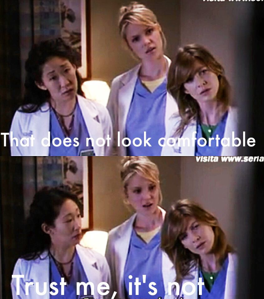 Watching porn! love Meredith!!! Grey\'s anatomy season 2! #itsnot lol ...