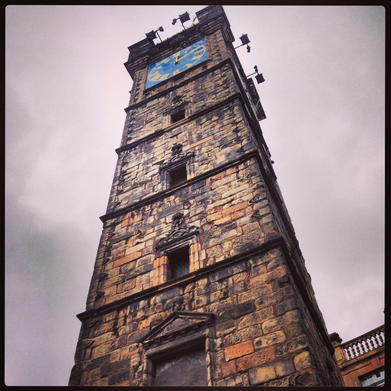 Tollbooth Clock Tower Glasgow