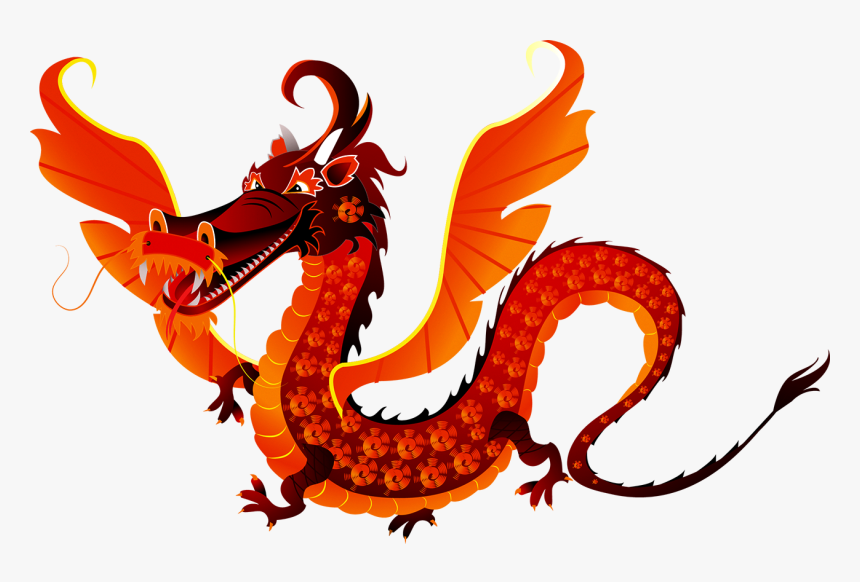 Red Dragon Cartoon Png