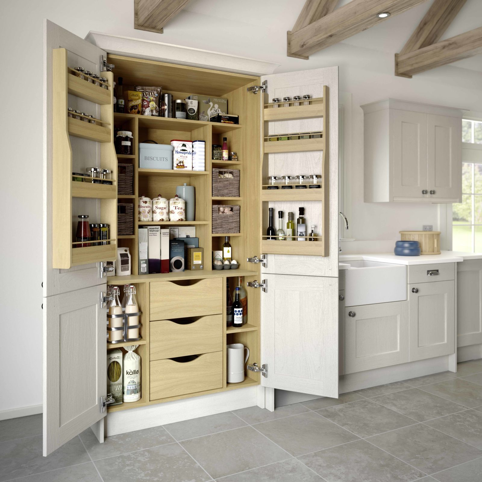 Small Kitchen Uk 10 Kitchen Trends Well Be Seeing In 2017 Larder Cupboard