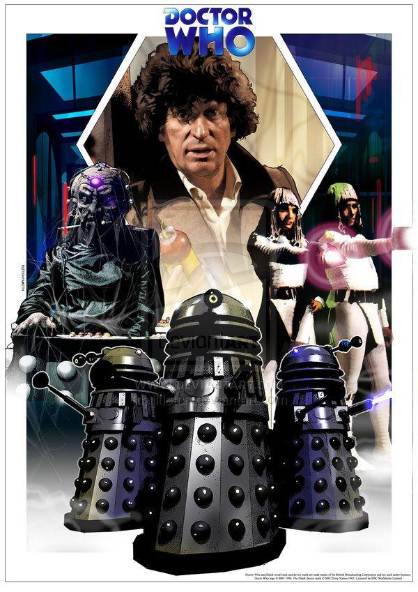 Destiny of the Daleks by jlfletch.deviantart.com on @deviantART