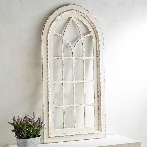 White Rustic Arch Wall Decor Kaitlyn Wedding Board