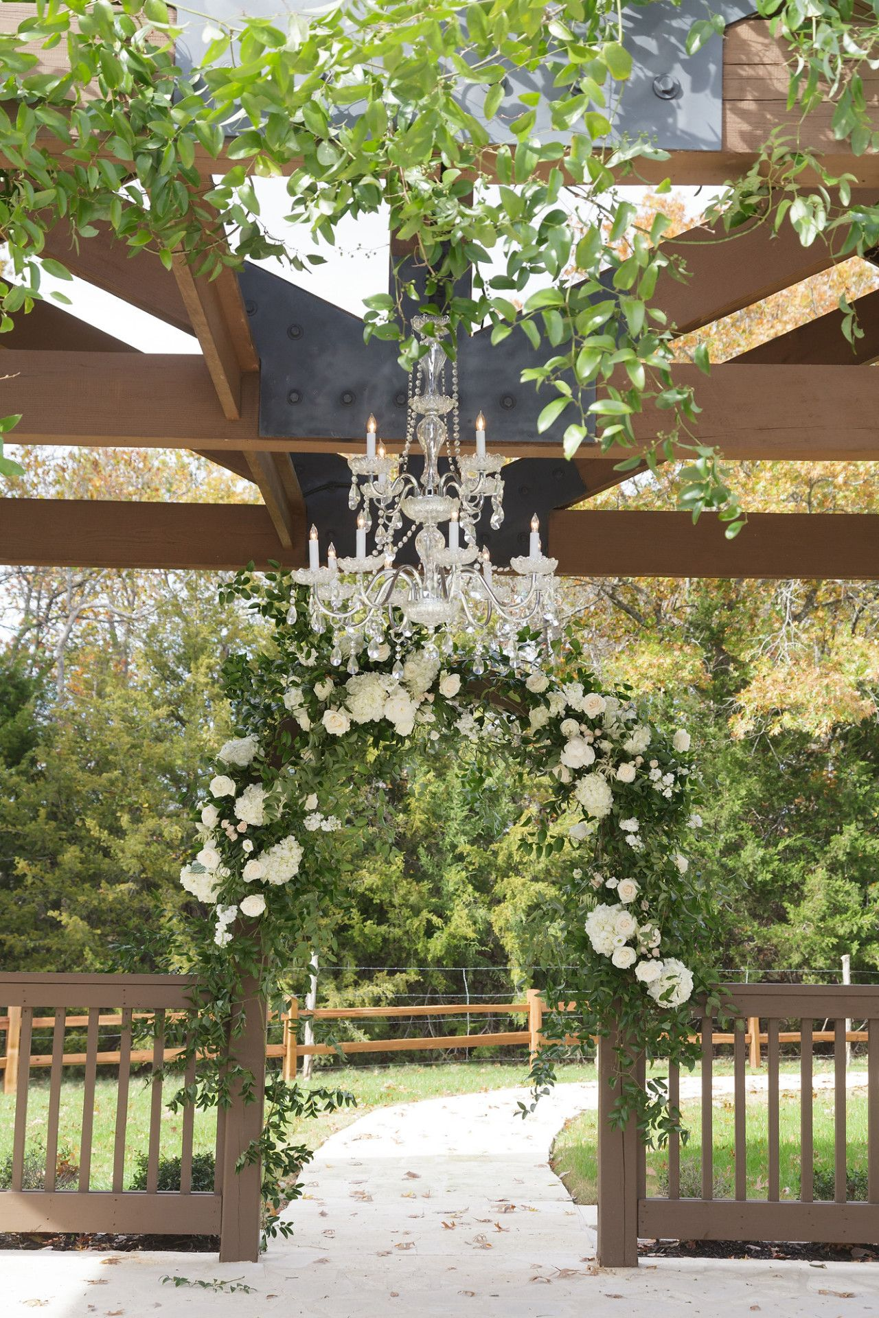 Wedding decorations white  THE SPRINGS in McKinney  wedding decor  Pinterest  Outdoor