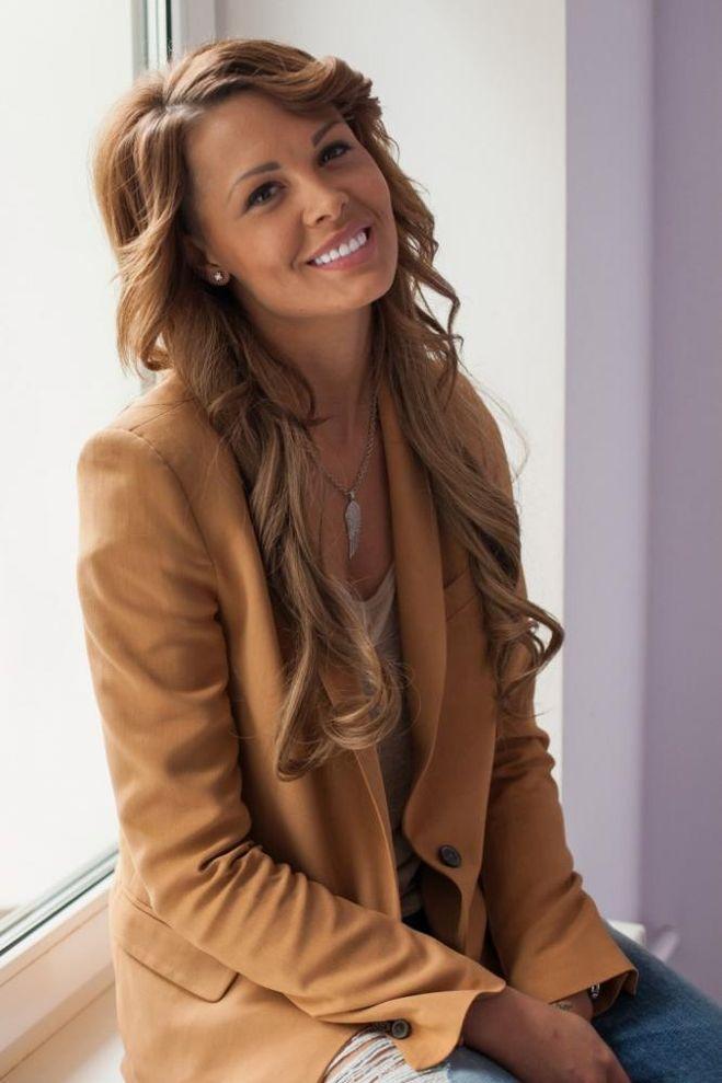 Mariya Gorban   Fashion, Leather jacket, Womens blazer