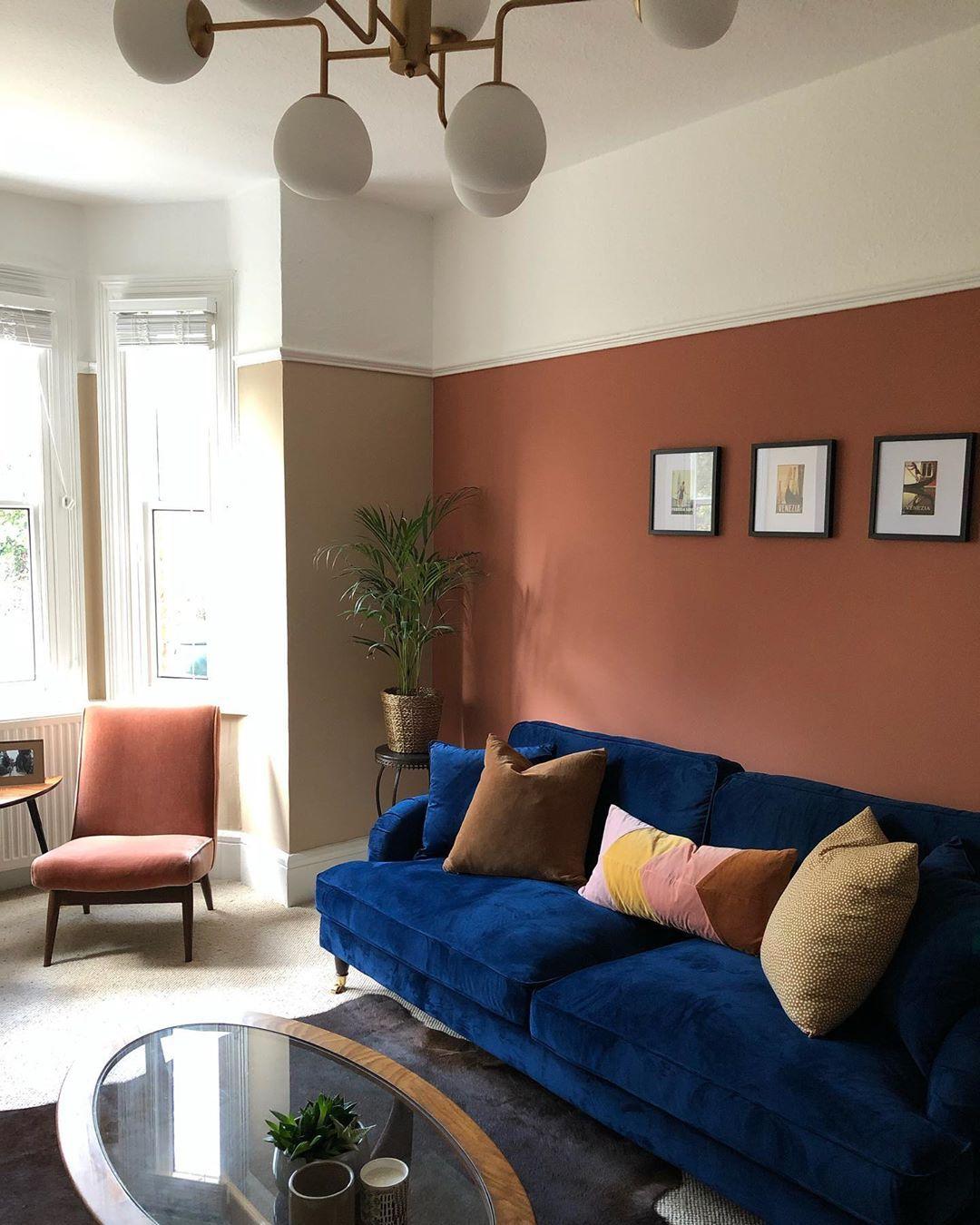 10+ Stunning Terracotta Living Room Walls