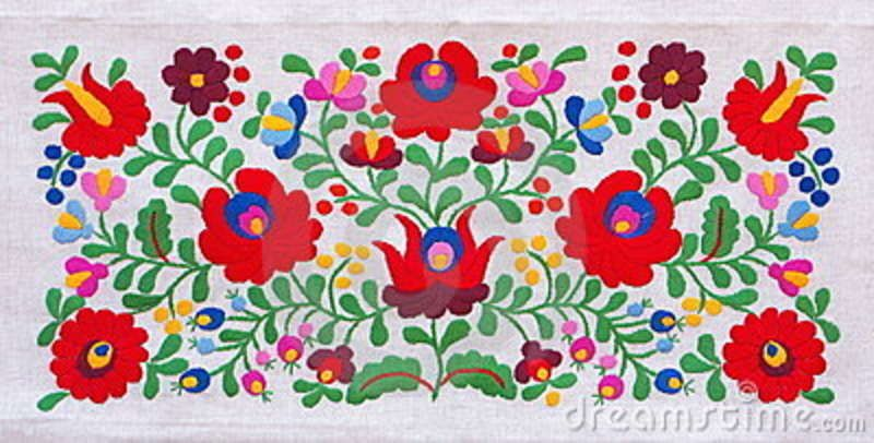 Free Hungarian Embroidery Patterns Traditional Hungarian