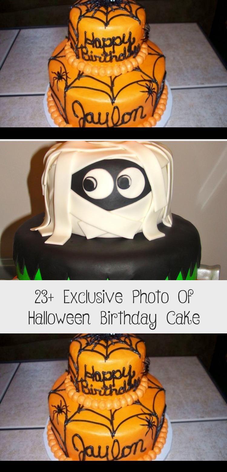 23+ Exclusive Photo of Halloween Birthday Cake . Halloween