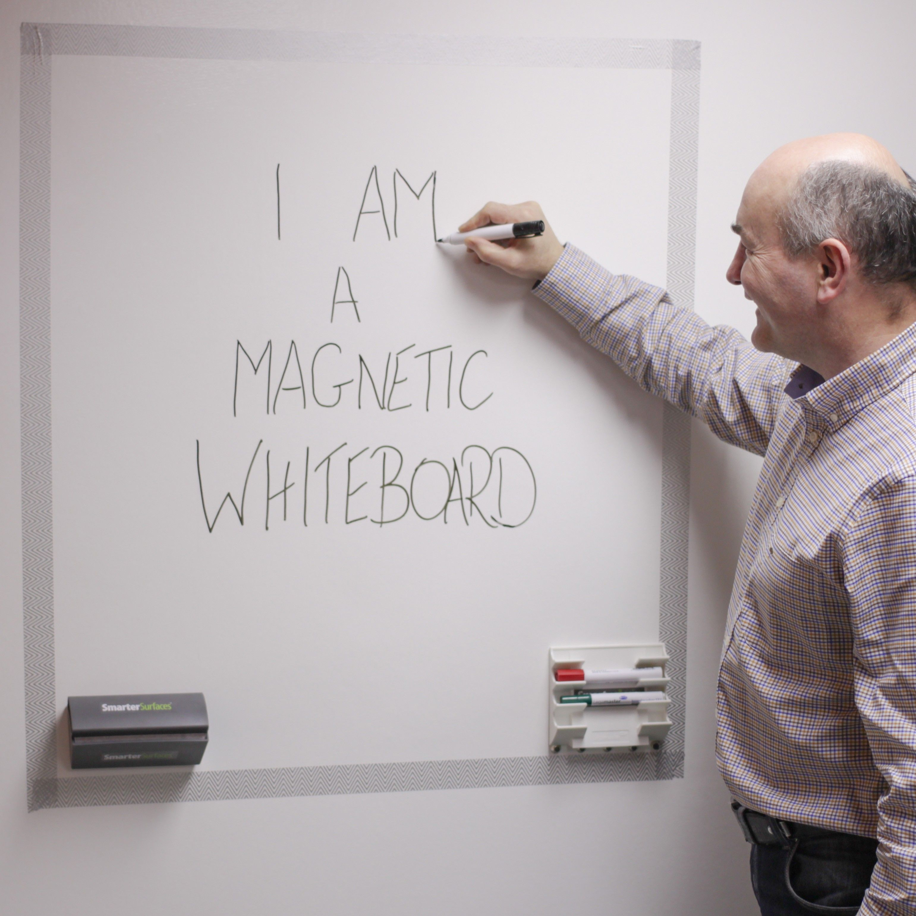 Magnetic Whiteboard Paint Kits Retail Magnetic White