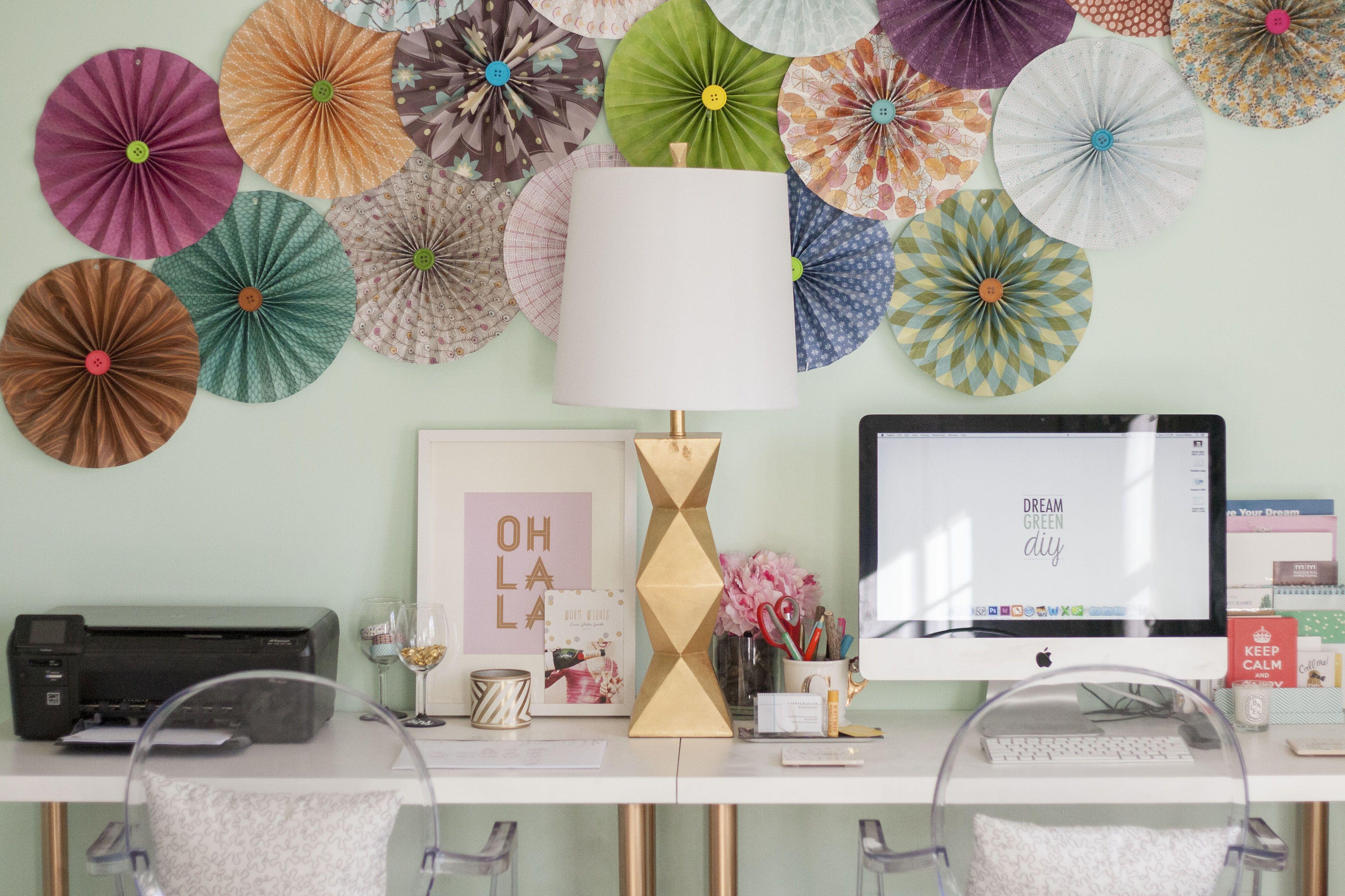 Ikeadeskhack desk for apartment ideas pinterest
