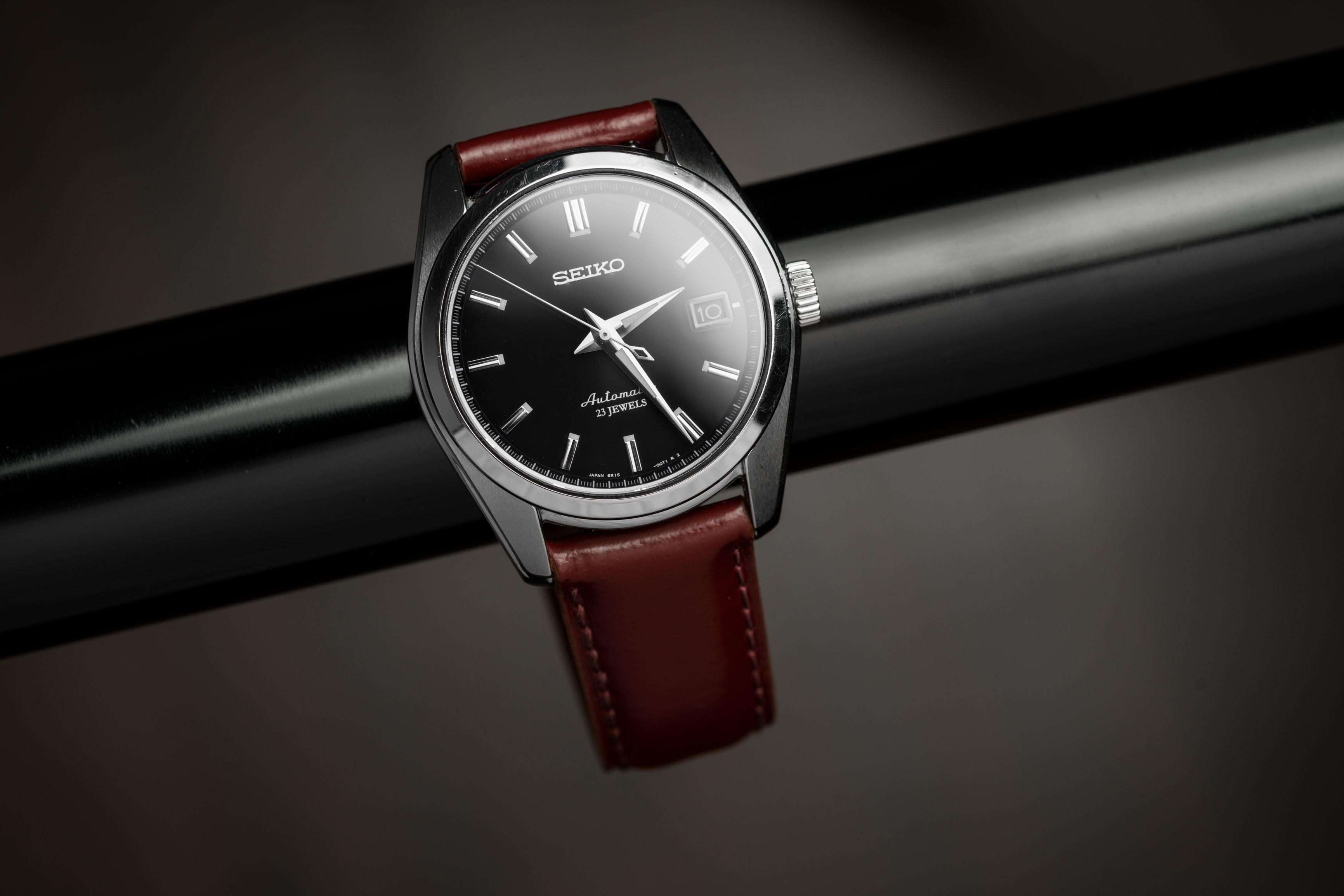 Seiko Sarb033 On Shell Cordovan Leather Strap Leather Watch Strap Leather Straps Watch Strap [ 2310 x 3463 Pixel ]