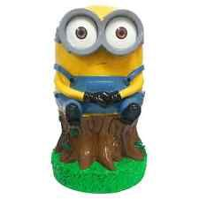 Minions Garden Gnome Bob Sitting Statue 250mm Made From Polyresin