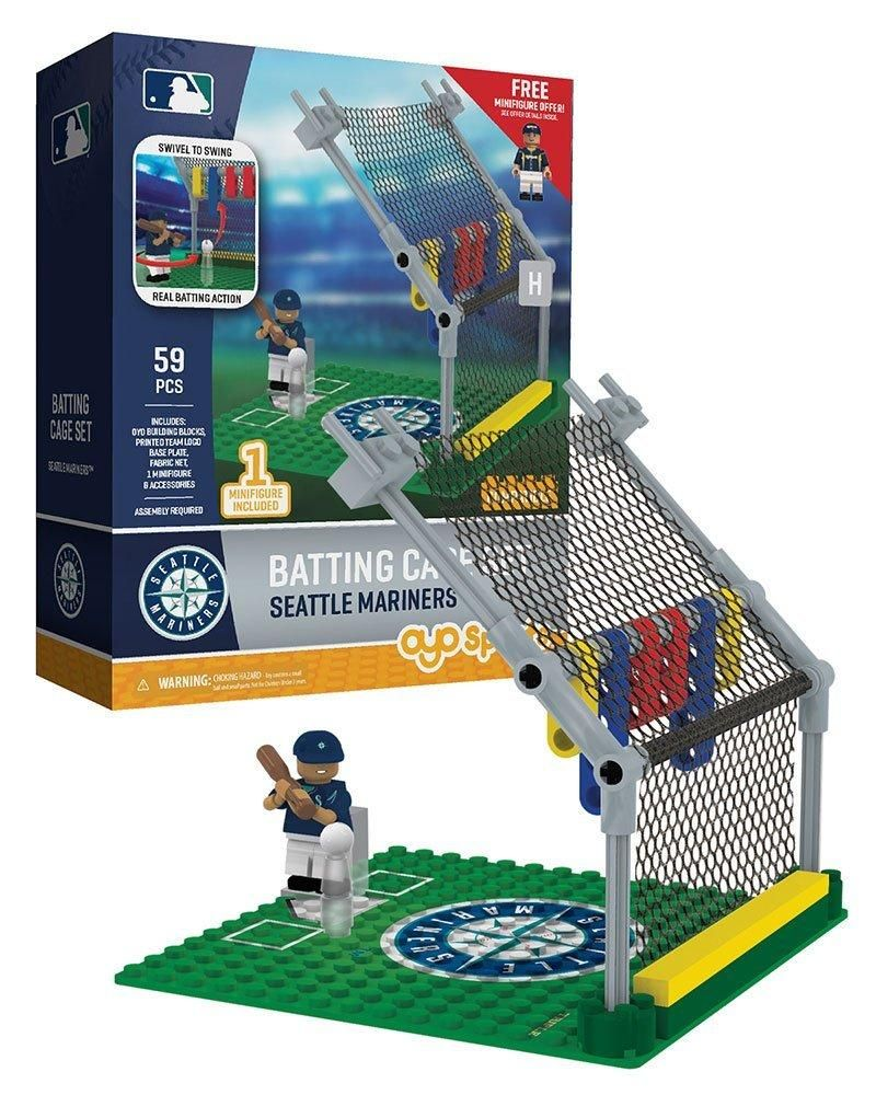 6000d551467 Oyo Sports Seattle Mariners Baseball Batting Cage Oyo Playset ...