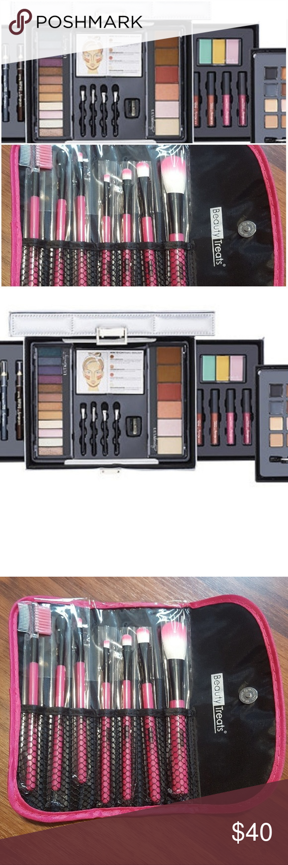 Makeup Collection and Brush Set 💞42 piece makeup kit