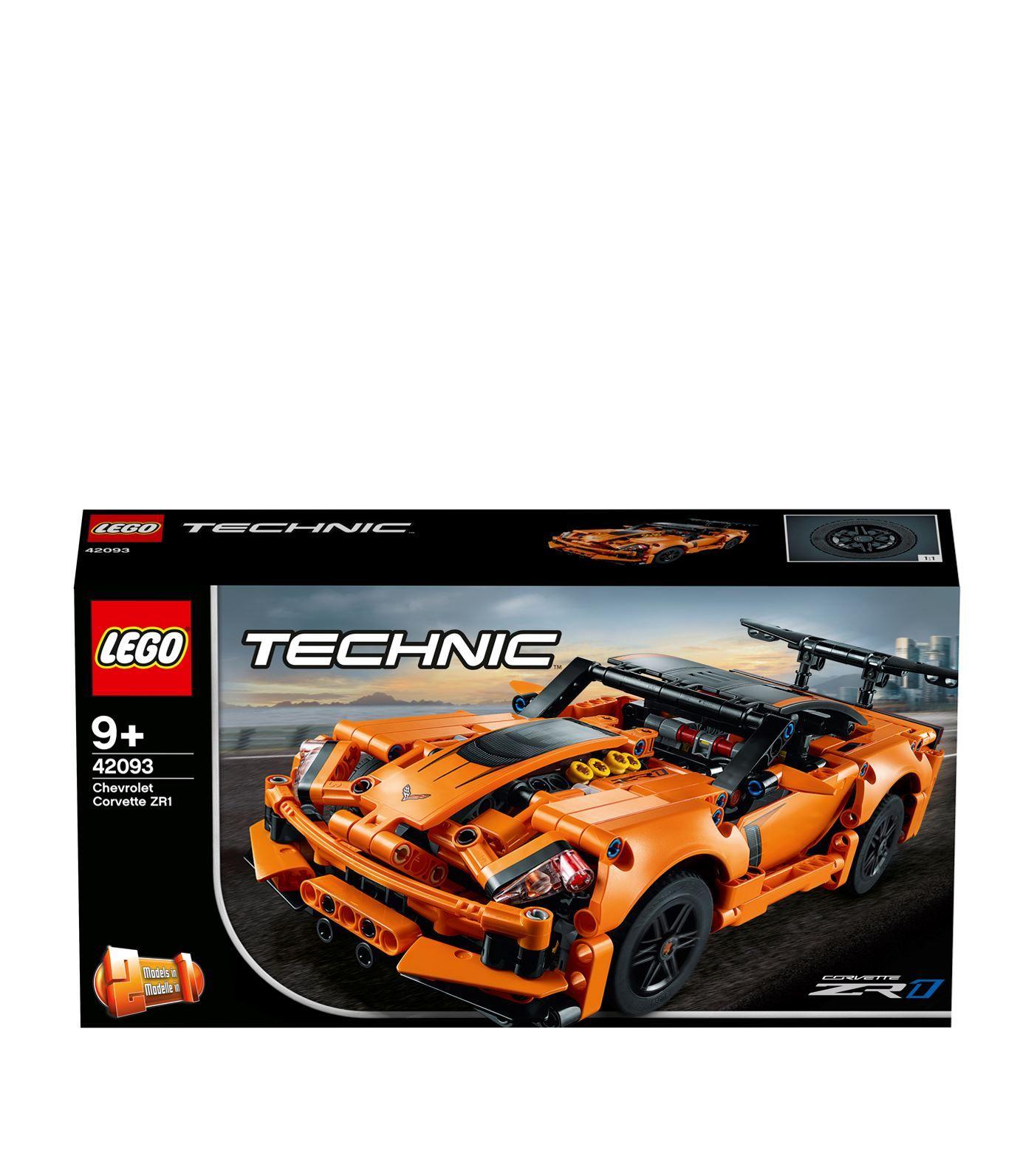 Technic Chevrolet Corvette Zr1 With Images Corvette Zr1 Lego