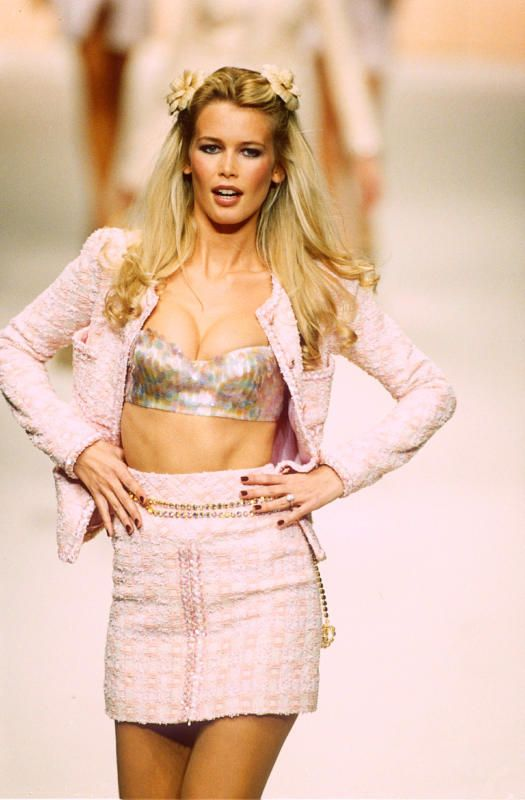 a3e932d396 Claudia Schiffer young model - Supermodels of the  80s and  90s  Where are  they now