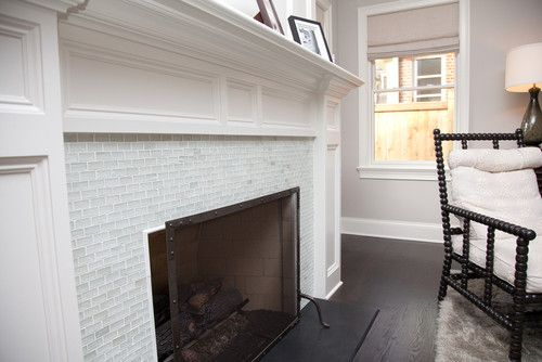 Slate In Front Of Fireplace And Dark Wood Floors With Images
