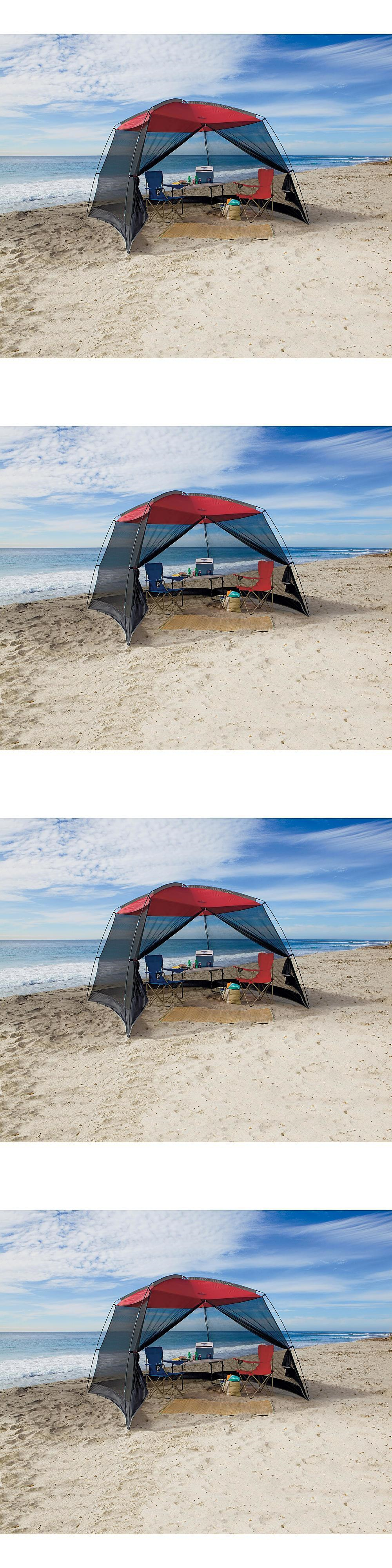 Canopies and Shelters 179011 Beach Canopy Tent Outdoor Sun Shelter C&ing Portable Sun Shade Cover : cover it tents - memphite.com
