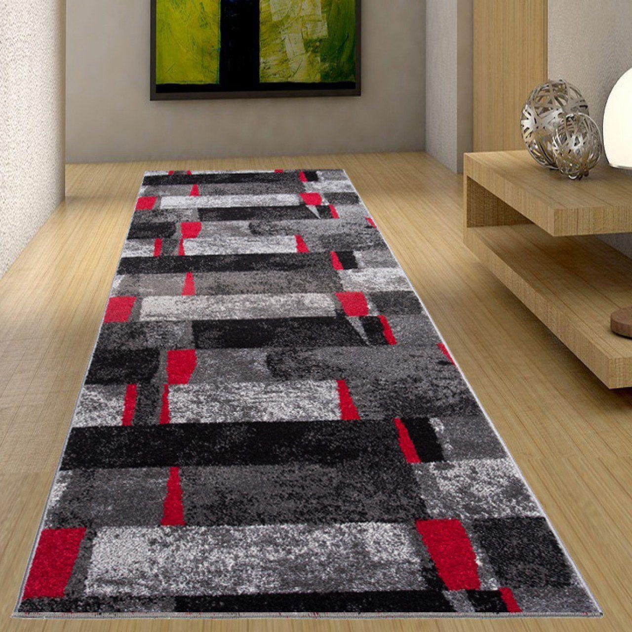 couleur anthracite gris rouge motif
