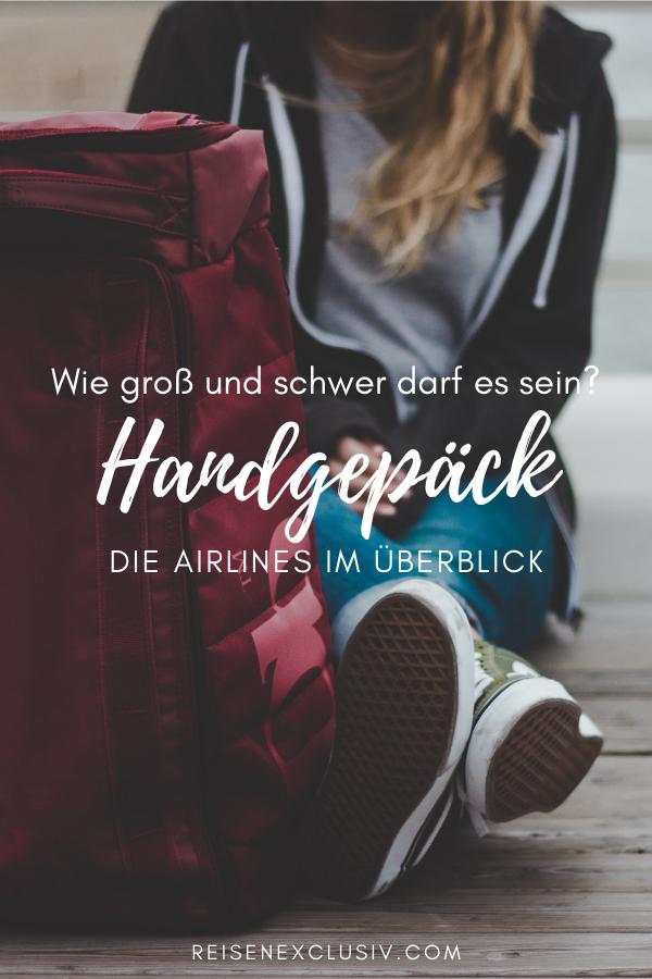 Handgepäck Wie Groß Und Schwer Es Sein Darf Reise Tipps