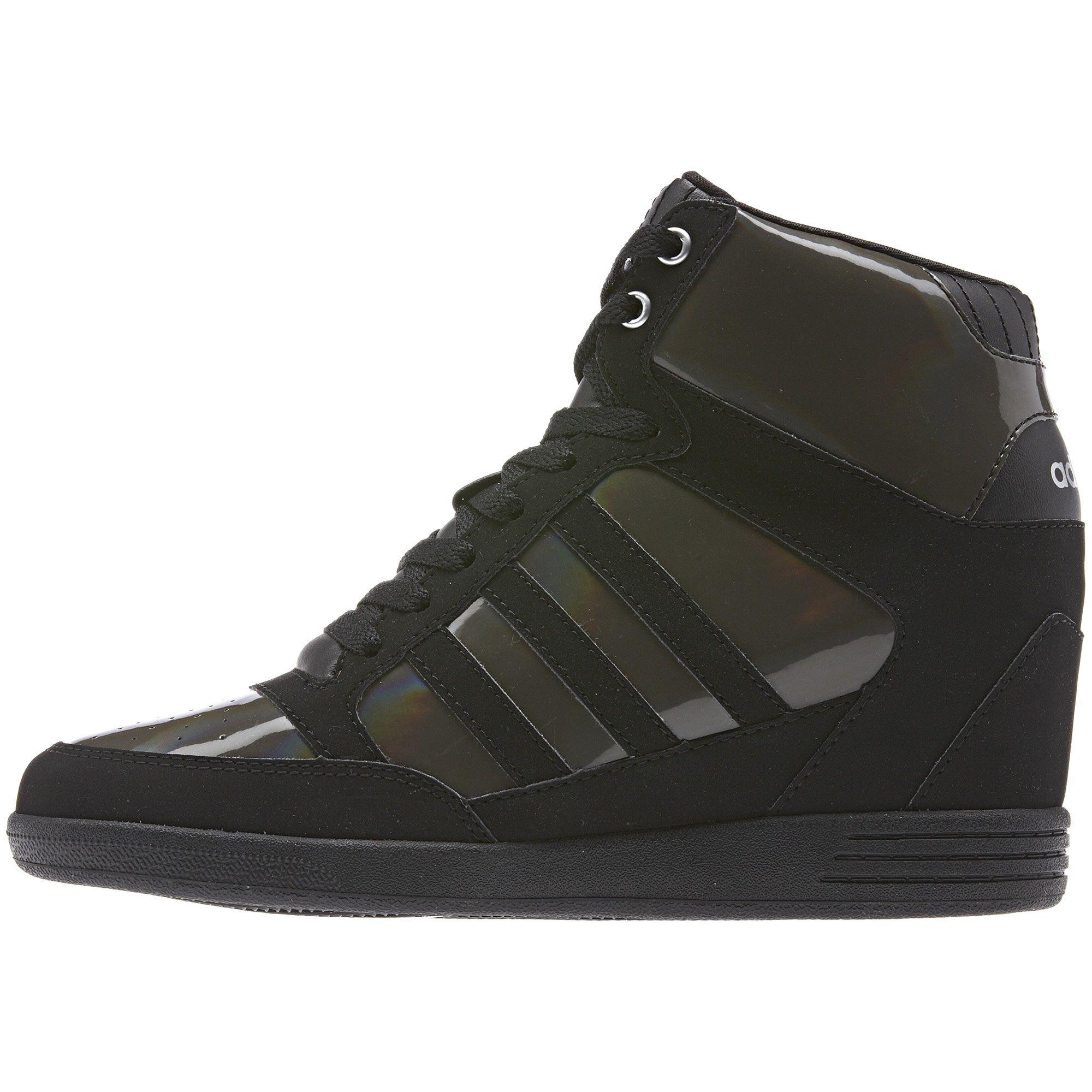 Adidas WENEO Super Wedge, in dark cinderblackmatte