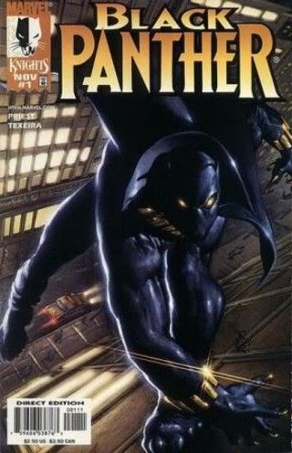 Black Panther - A look at African American heroes in comic books