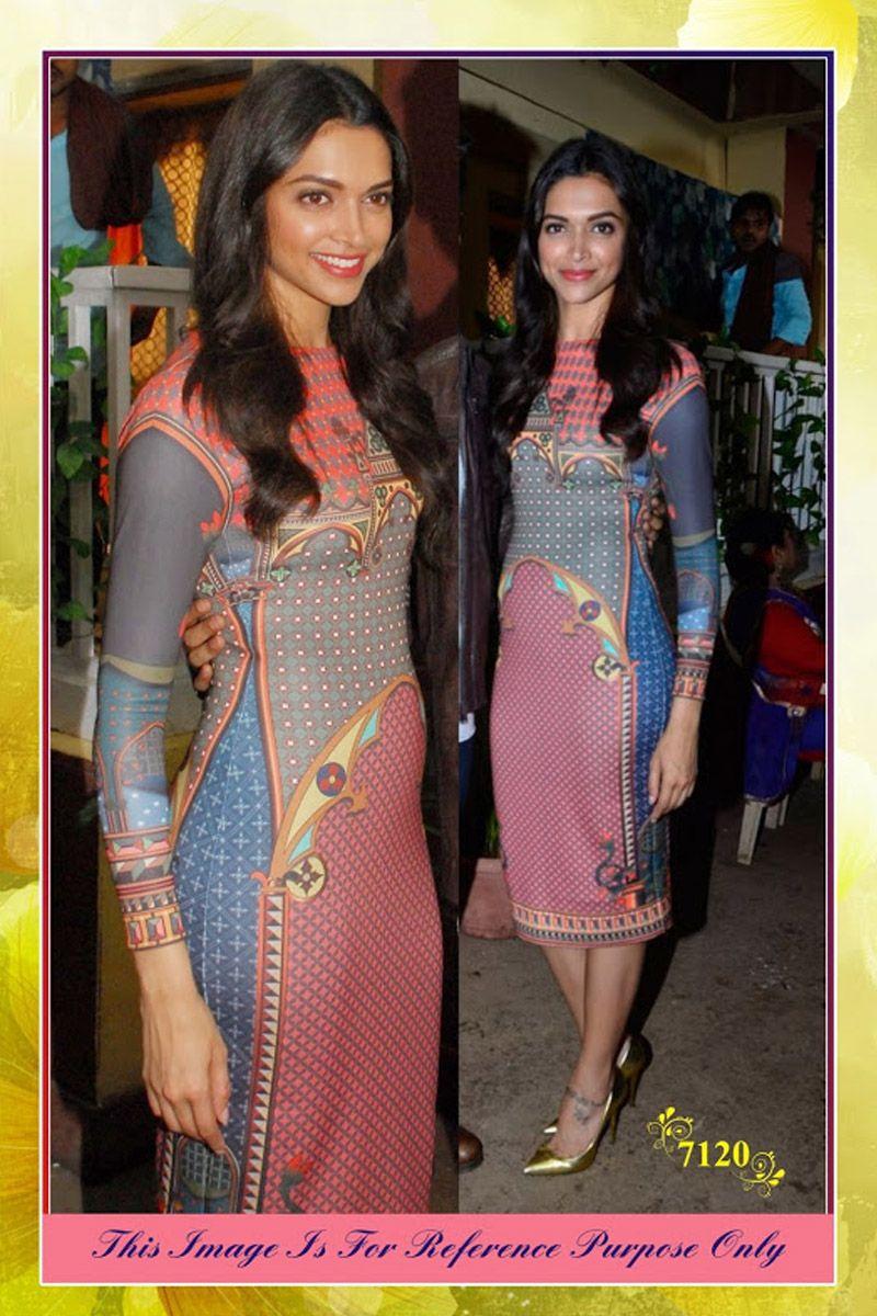 Deepika Padukon Multi Replica Kurti   Fashion, Fashion ...