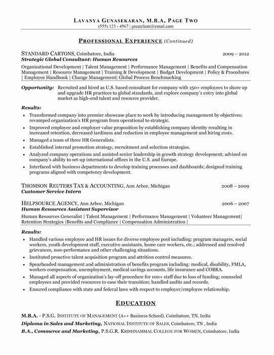 Human Resources Business Partner Resume Luxury Best Resume Writing