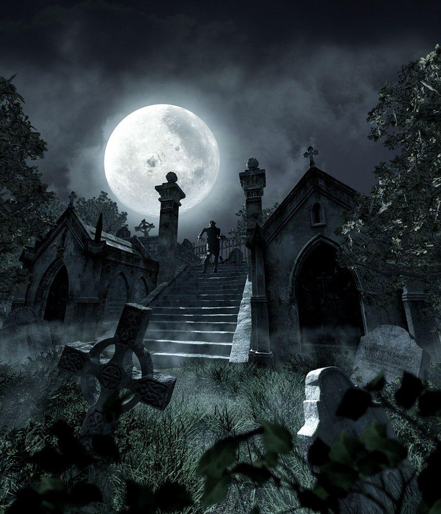 Nocturnehandcrafts Friedhof Tattoo Mystische Bilder Friedhof 14