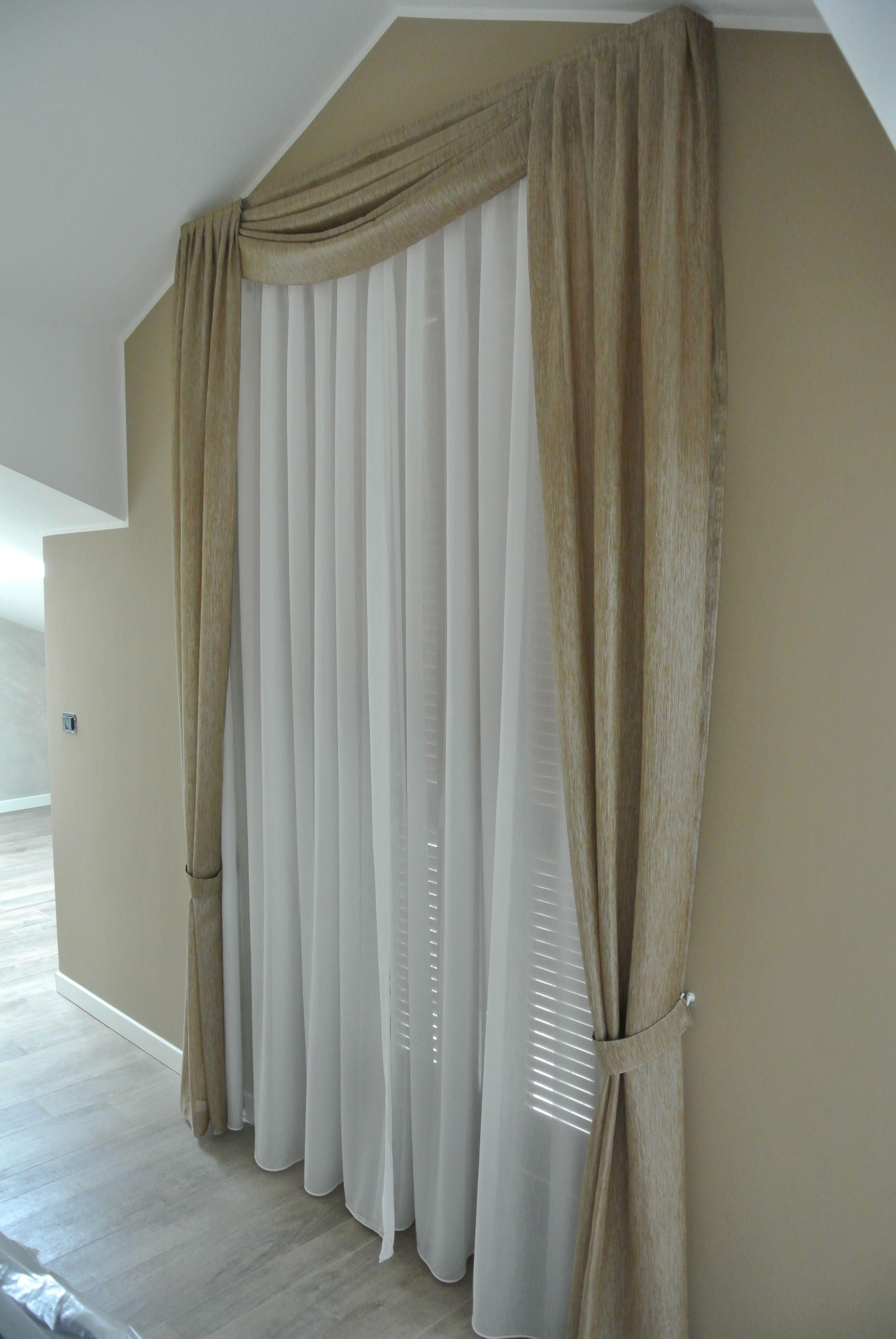 In base al tessuto scelto, le tende da interni, possono essere più o meno spesse e adatte a contesti differenti nonché stili di arredamento: Pin Su Portfolio Tende Privati