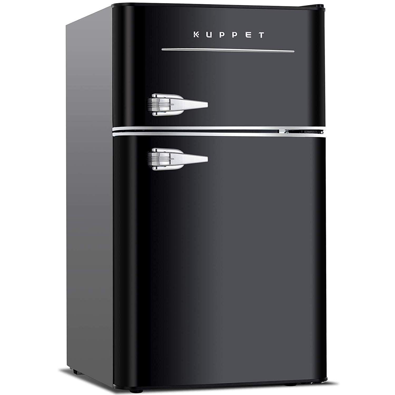 Kuppet Retro Mini Refrigerator Best Refrigerator For Home 2019 Mini Fridge With Freezer Compact Refrigerator Mini Fridge