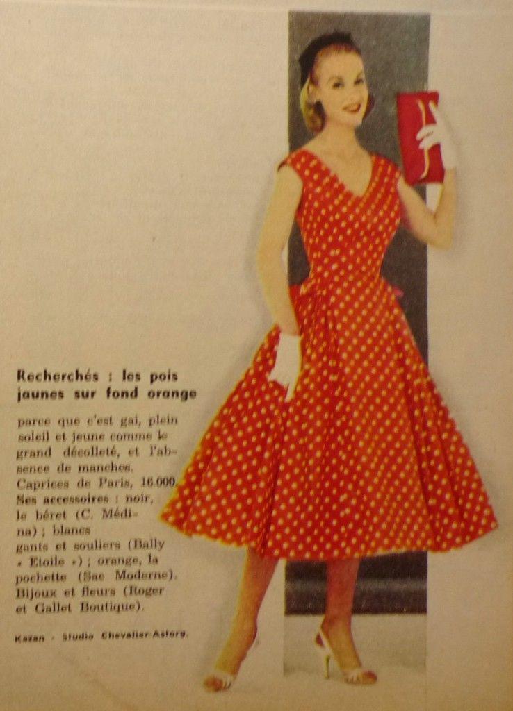 f8a5ad40a21 exemple patron gratuit robe vintage année 50