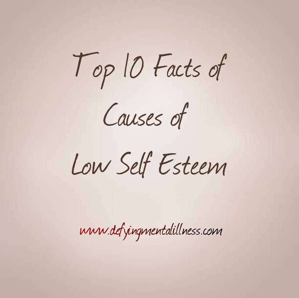 Bullying causes low self esteem