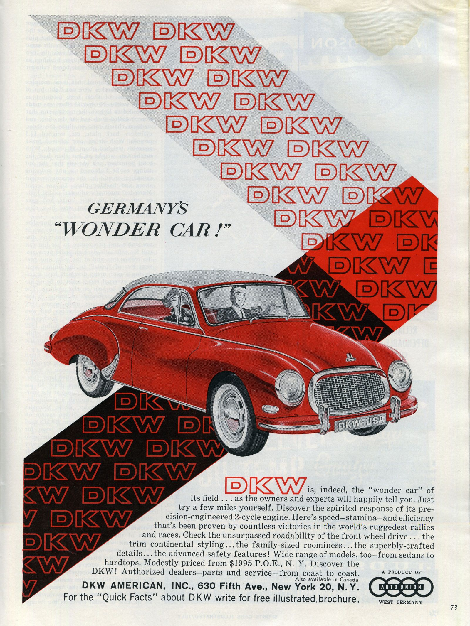 These 29 Car Ads From 60 Years Ago Are Undeniably Cool | Cars