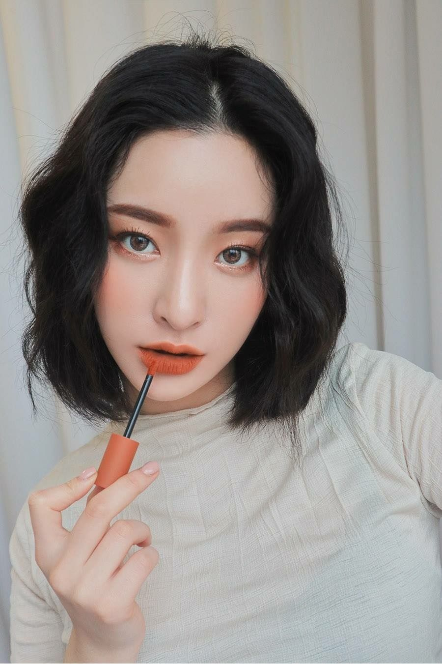 Image result for asian face pinterest cam cháy