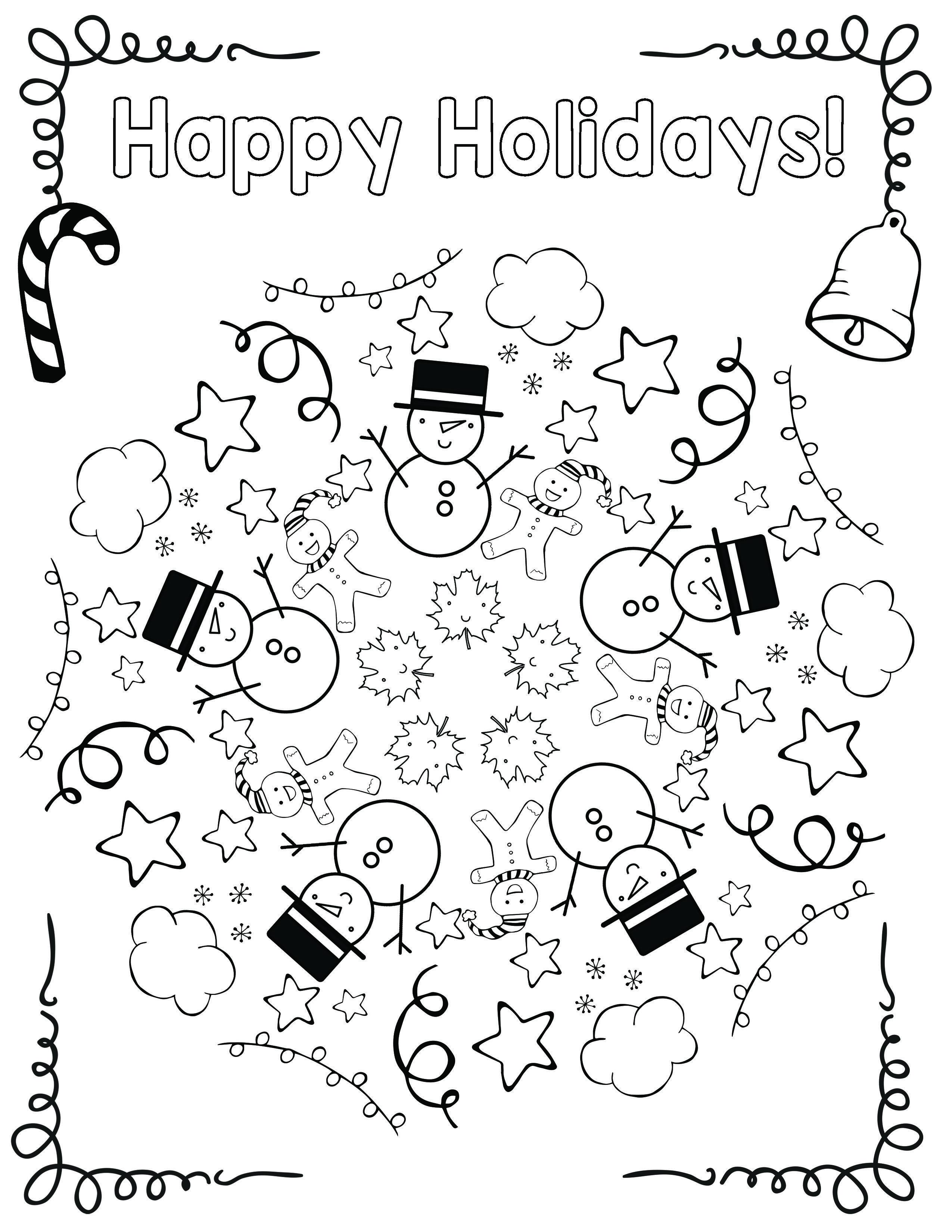 Free Holiday Coloring Mandala First Grade Math Worksheets Art