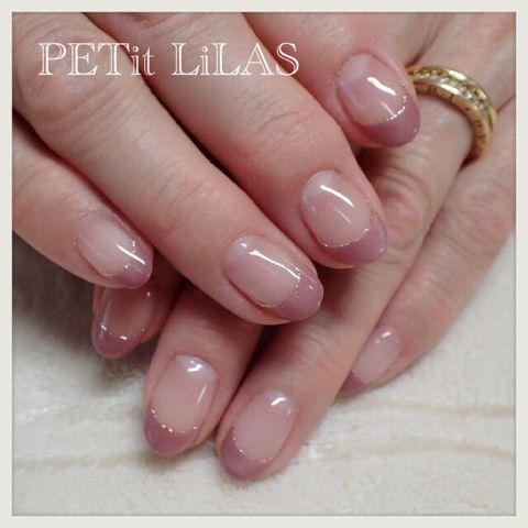 マグネットジェルで秋なネイル  neutral nails elegant nails korean nail art