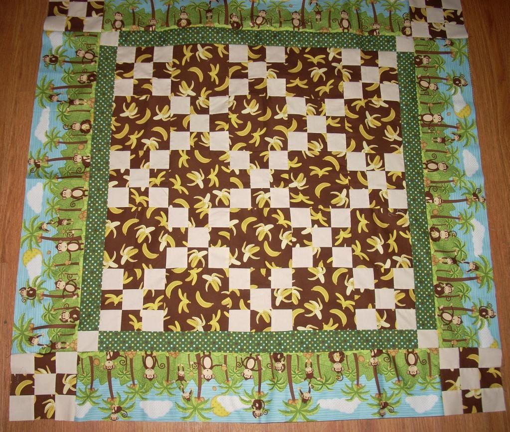 monkey quilt patterns for baby quilts   Quilting Ideas   Project ... : monkey baby quilt pattern - Adamdwight.com