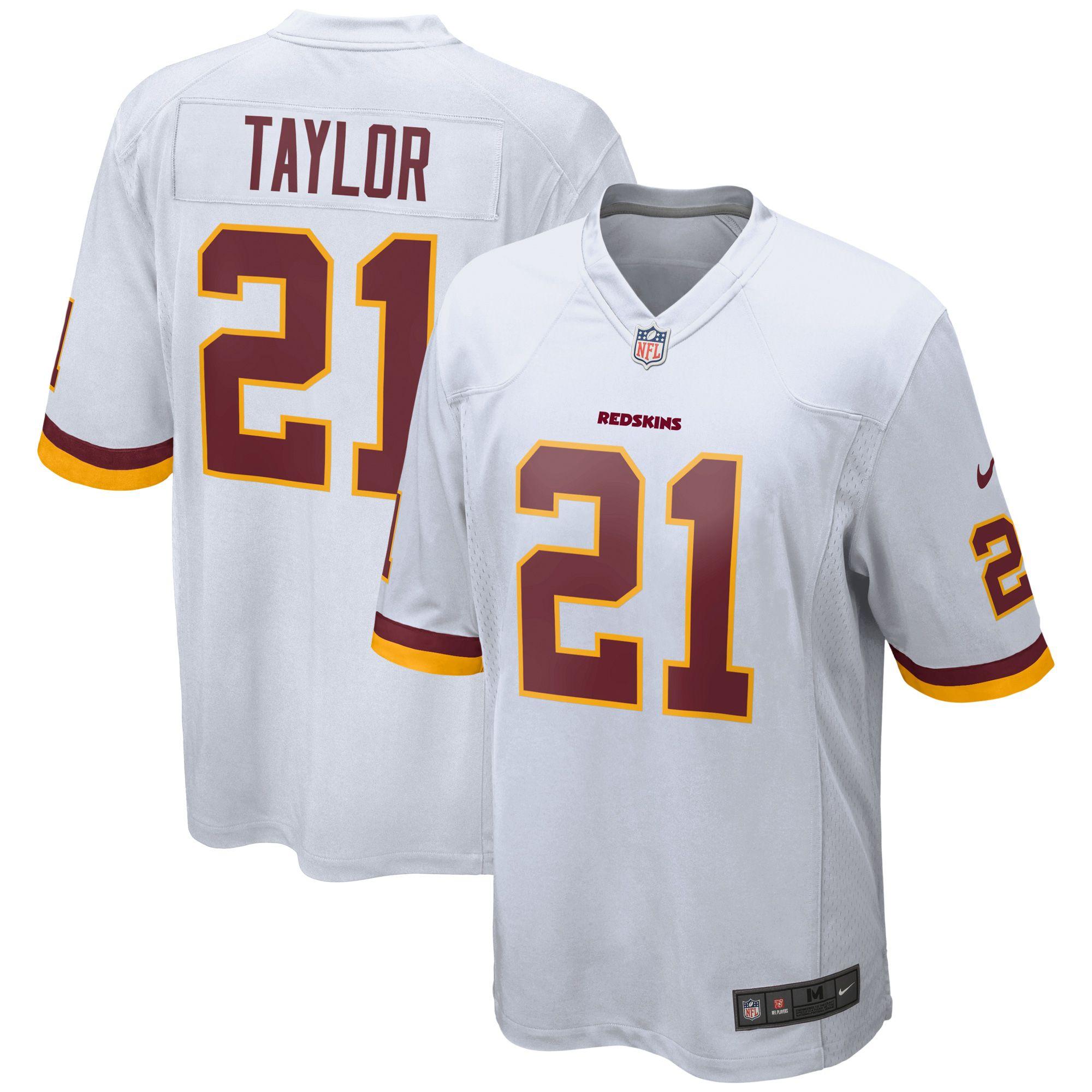 Sean Taylor Washington Redskins Nike Retired Player Game Jersey White Redskins Nfl Jerseys For Sale Washington Redskins