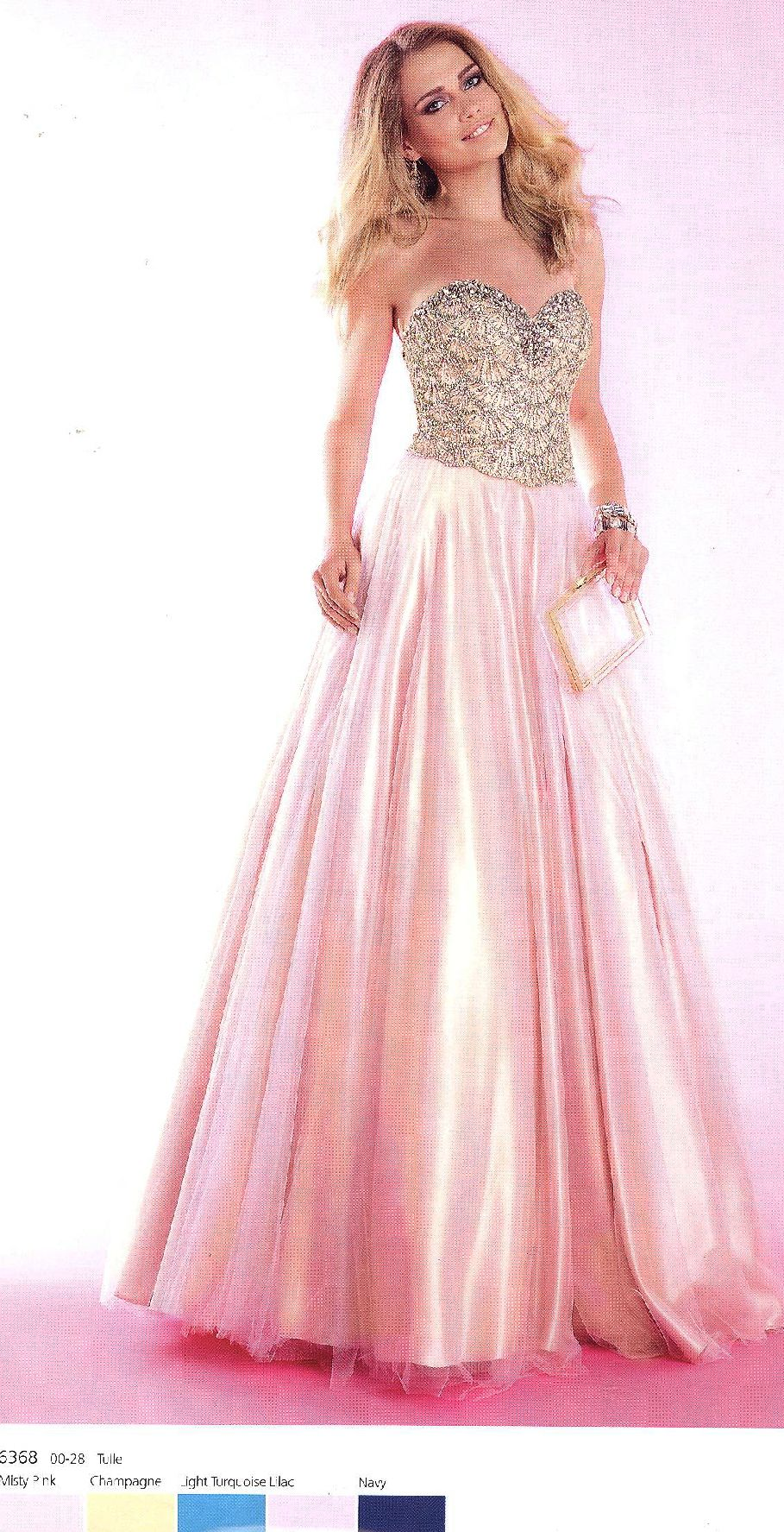 pink jeweled sweet 16 dresses