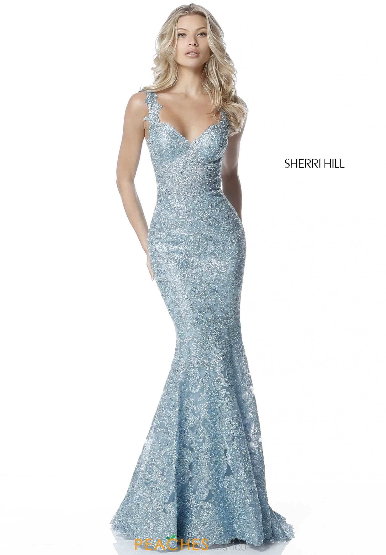 Sherri Hill Lace Fitted Dress 51571   Prom Dresses 2018   Pinterest ...